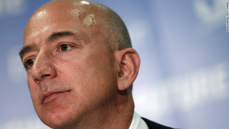 Jeff Bezos passes Warren Buffett to become the world's second richest person