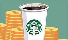 Minimum wage hikes don't hurt Starbucks