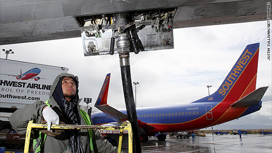 Airlines saved $11 billion on fuel. You saved 8 bucks.