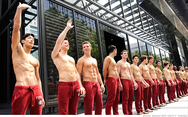 Abercrombie makeover: No more shirtless models