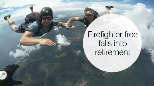 Retire your way landing
