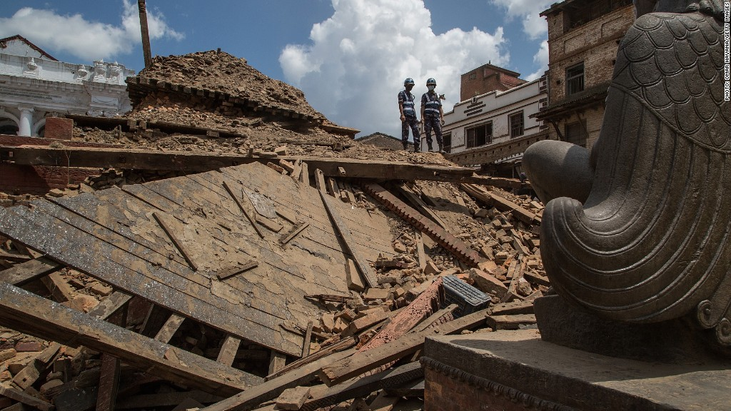 Red Cross CEO: Nepal needs basic first aid