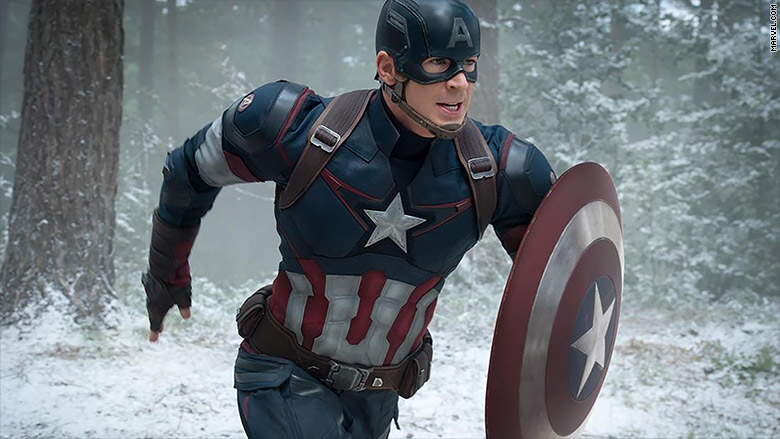 Capt america run