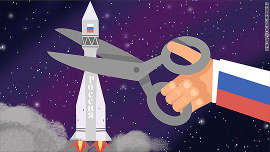 Slash to Russia's heart: Money crisis hits space program