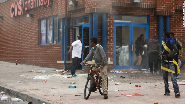 baltimore riots cvs