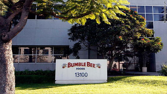 Bumble Bee exec to plead guilty in tuna price fixing