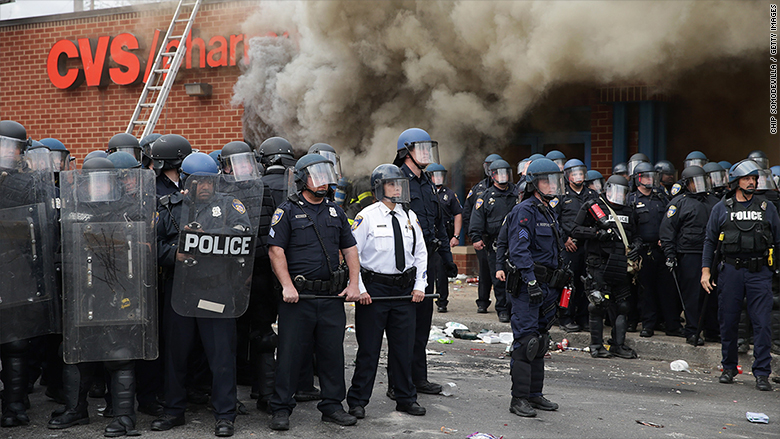 baltimore protests cvs