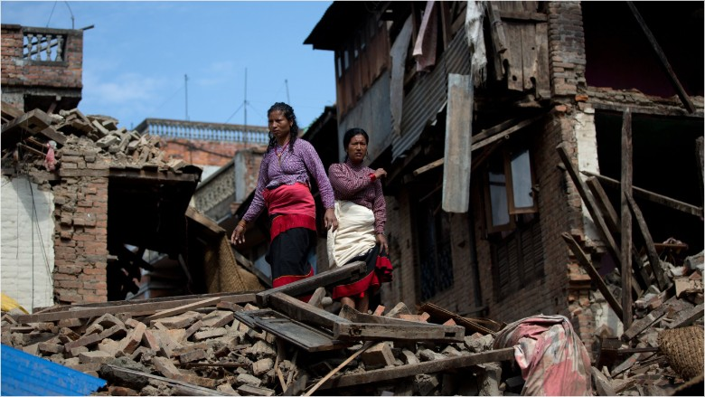 nepal earthquake homes damage