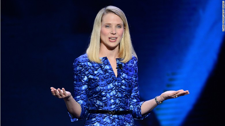 marissa mayer pay