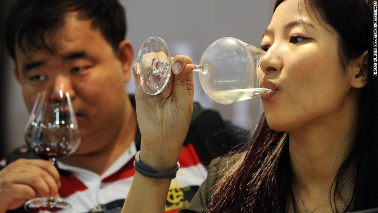 chinese drinkers