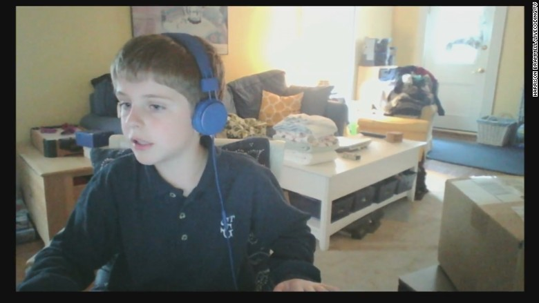 11 year old coder live stream