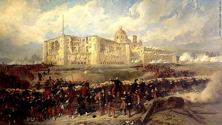 Cinco de Mayo battle of Puebla