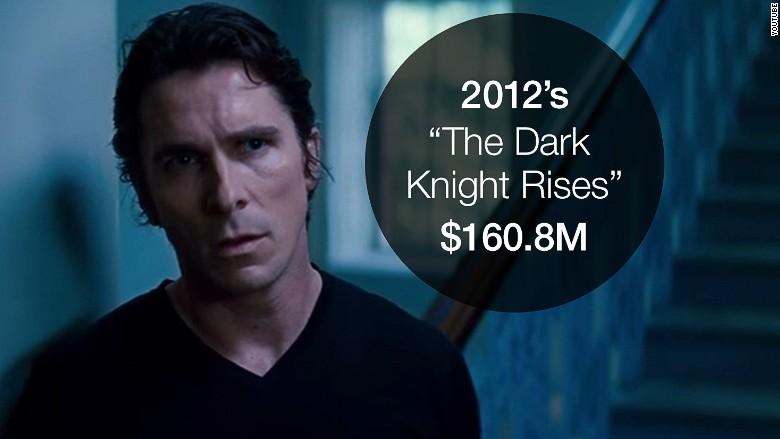 opening weekend dark knight rises
