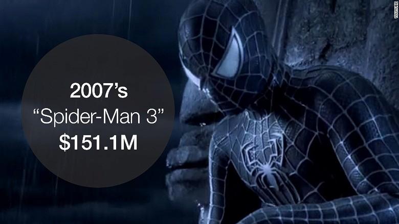 opening weekend spiderman 3