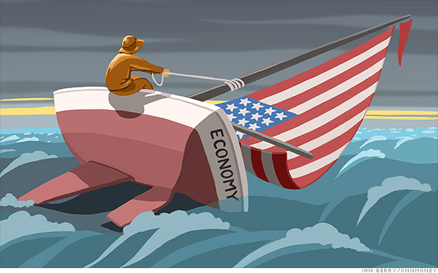 America's capsizing economy: Can it right the ship?