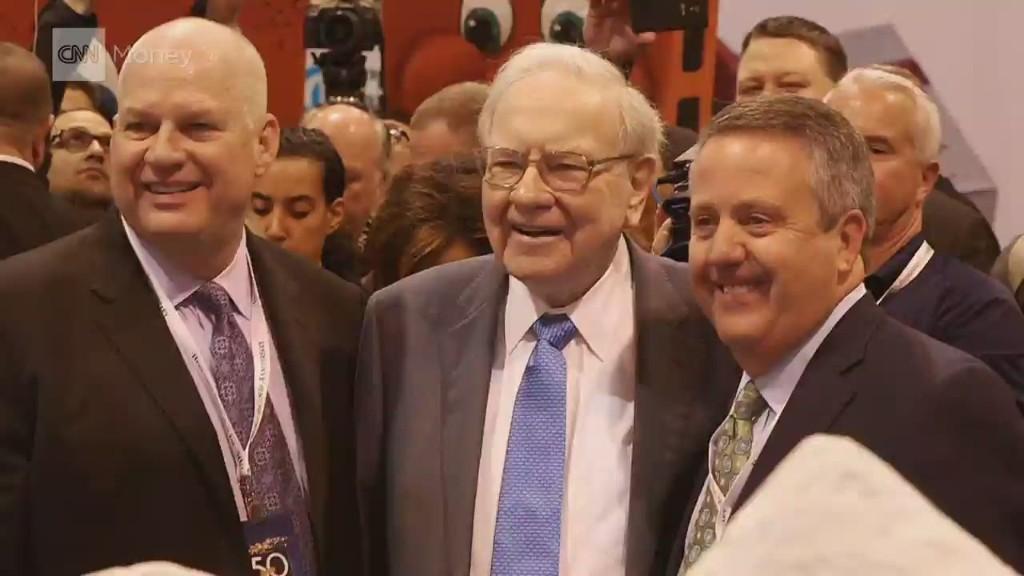 Buffett celebrates 50 years of Berkshire
