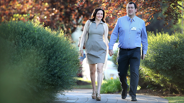 Dave Goldberg, husband of Facebook exec Sheryl Sandberg, dies.
