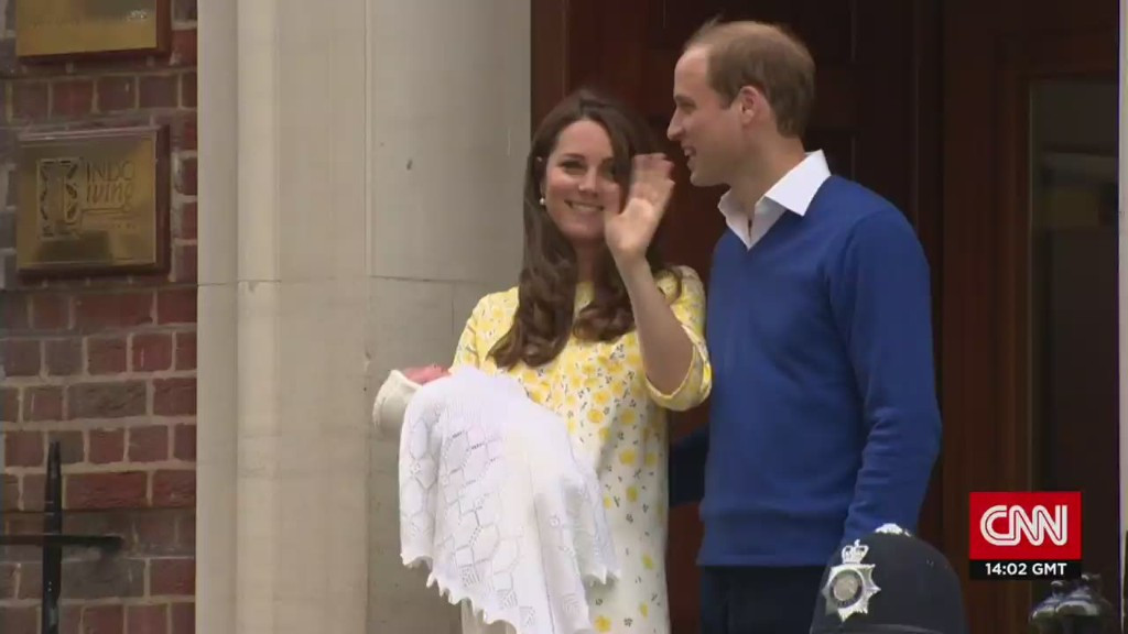 Princess Charlotte: Britain's newest royal