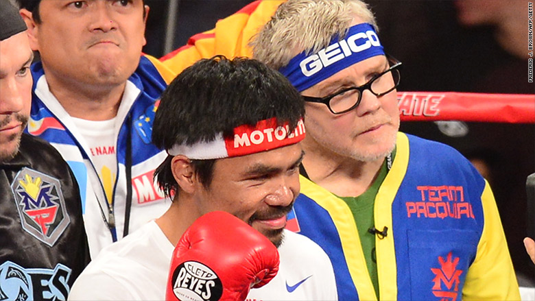 manny pacquiao trainer