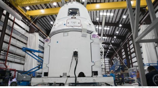 Spacex Dragon Passenger Capsule Passes Key Test May 6 2015