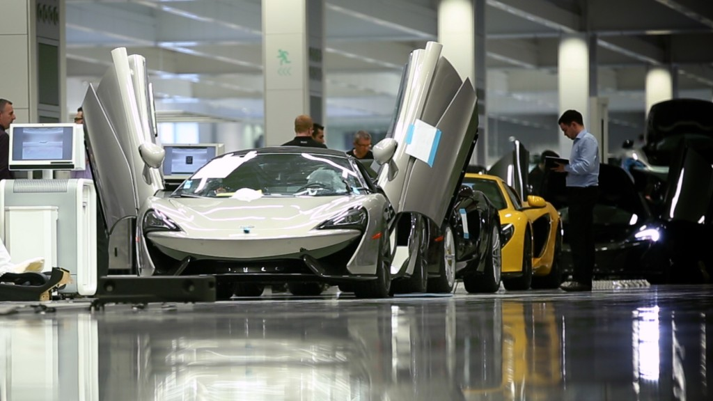 Inside McLaren's high-tech auto lab