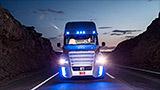 Self-driving trucks hit Nevada roads