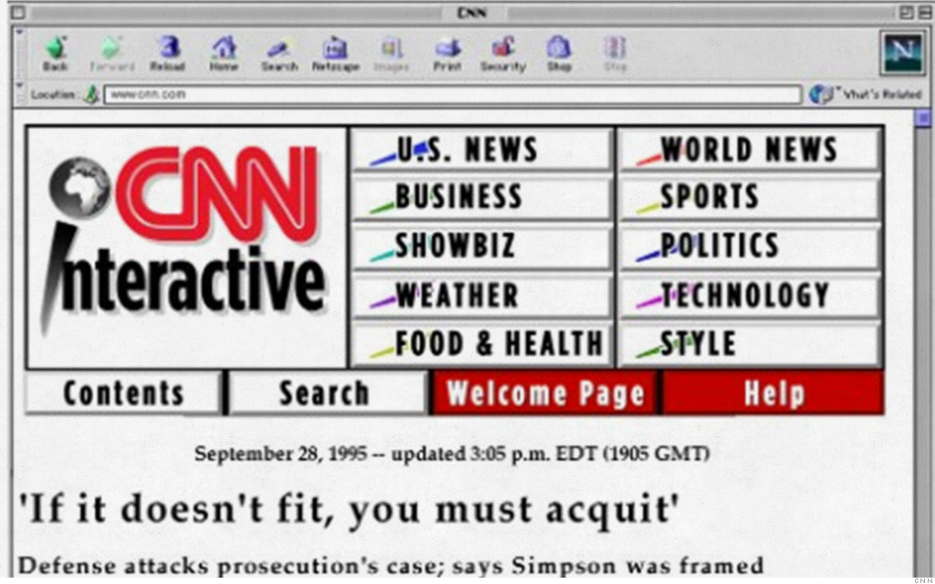 old website cnn