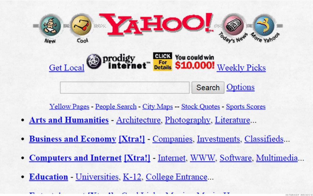 old website yahoo