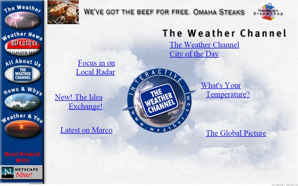 old website weather