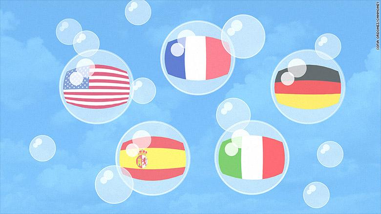 bond bubbles