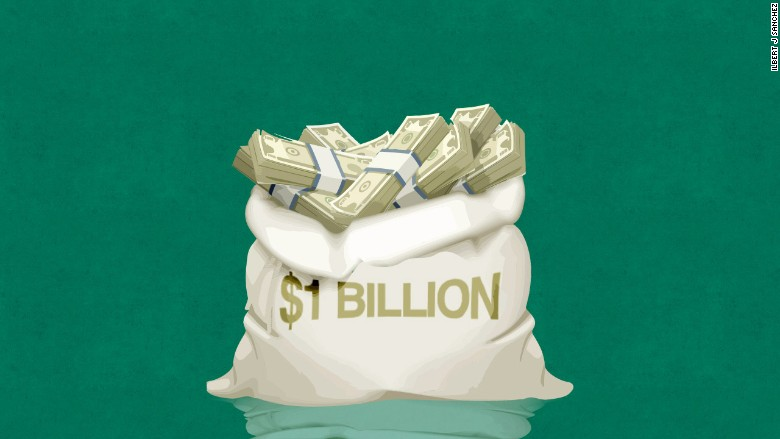 1 Billion Money Bag