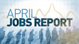 160,000 jobs added in April