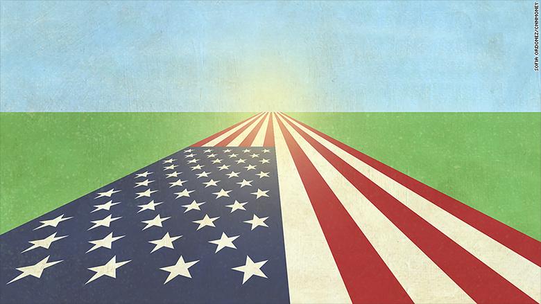 optimistic america