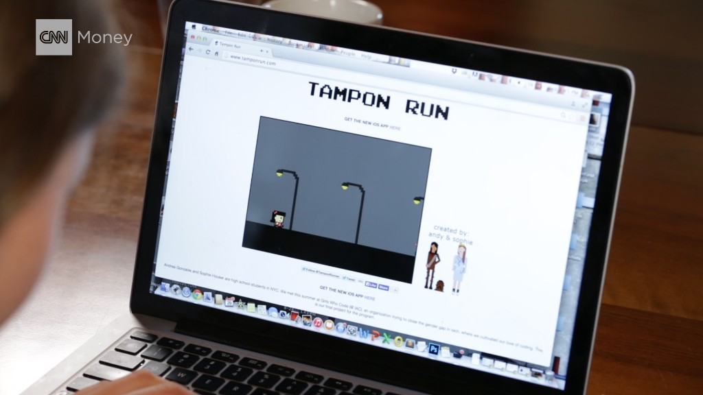 'Tampon Run' video game aims to break taboo