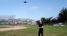 Lily drone flight
