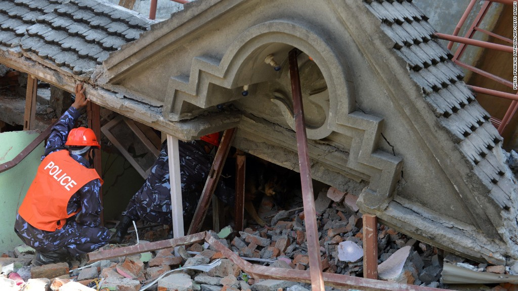 Second Nepal earthquake is a 'monster'