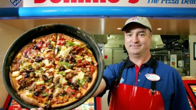 Domino's Pizza is a huge hit among Millennials. Stock hits all-time high