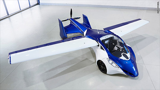 Flying car companies aim for takeoff in 2017