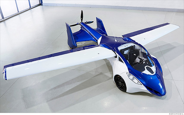 Flying Car Companies Aim For Takeoff In