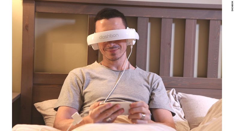 weird gadget mask headphones