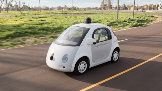 Feds to Google: Cars don't need drivers