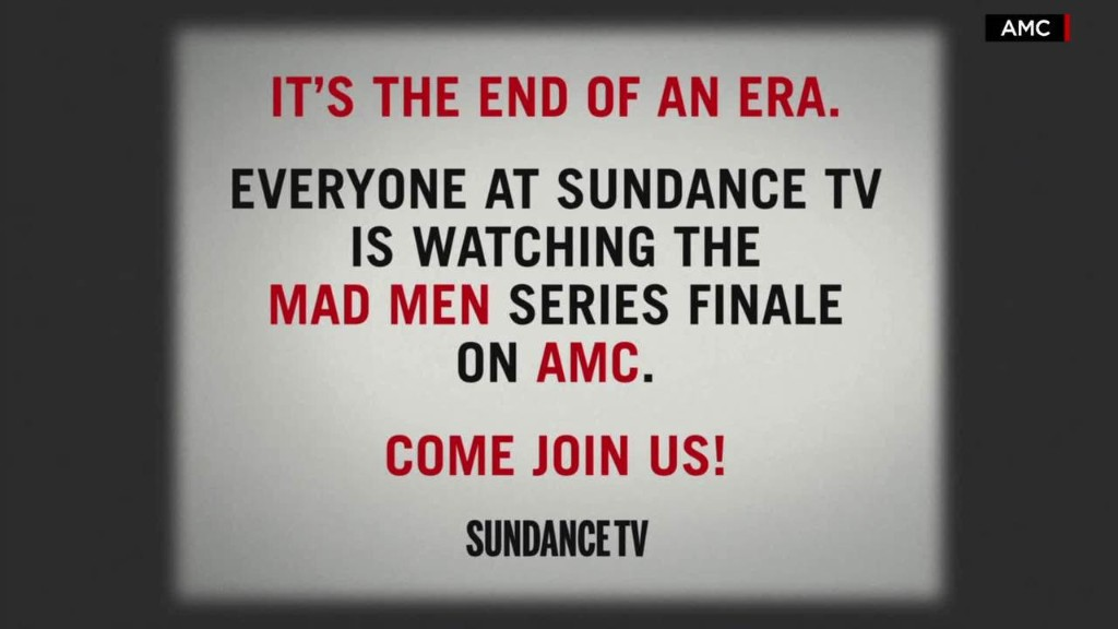 AMC-owned channels to go dark for 'Mad Men' finale