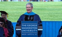 Tim Cook's advice to grads in :90