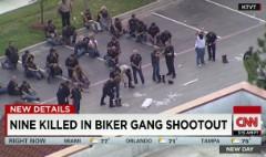Nine dead after biker brawl at Texas restaurant