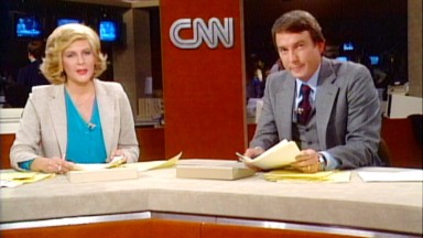 1980: CNN's first hour in 2 minutes