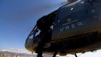 Uber test-flies 'UberCopter' at Cannes