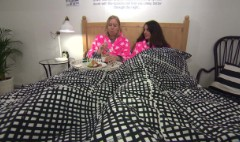 Ikea cafe serves breakfast in bed