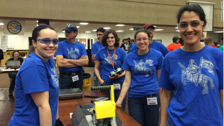 beaumont school national robotics league