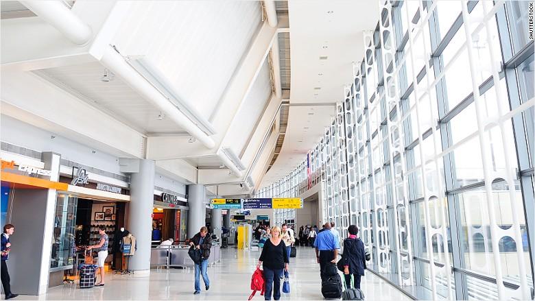Newark Airport interior