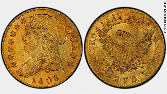 This $2.50 coin just sold for $2.4 million